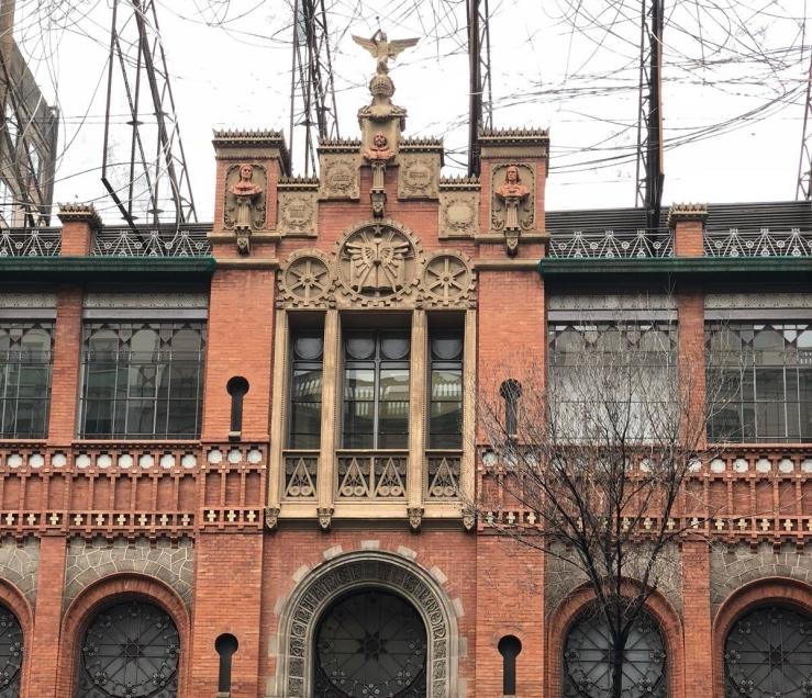 Fundació Antoni Tàpies building