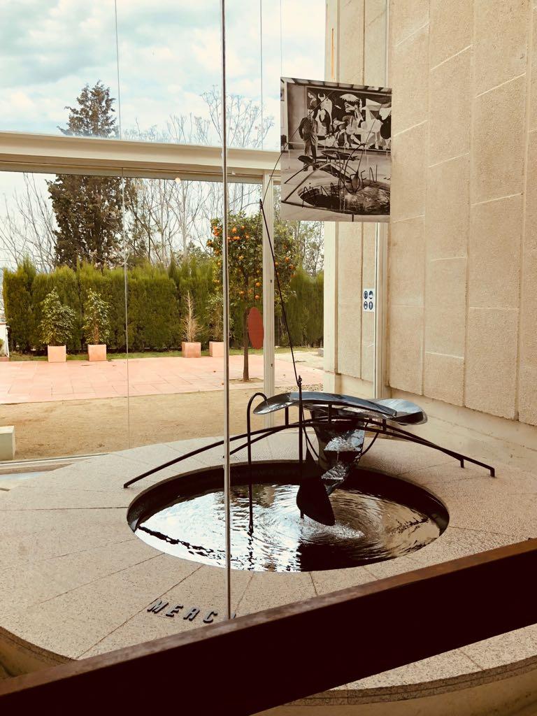 Joan Miro foundation sculpture