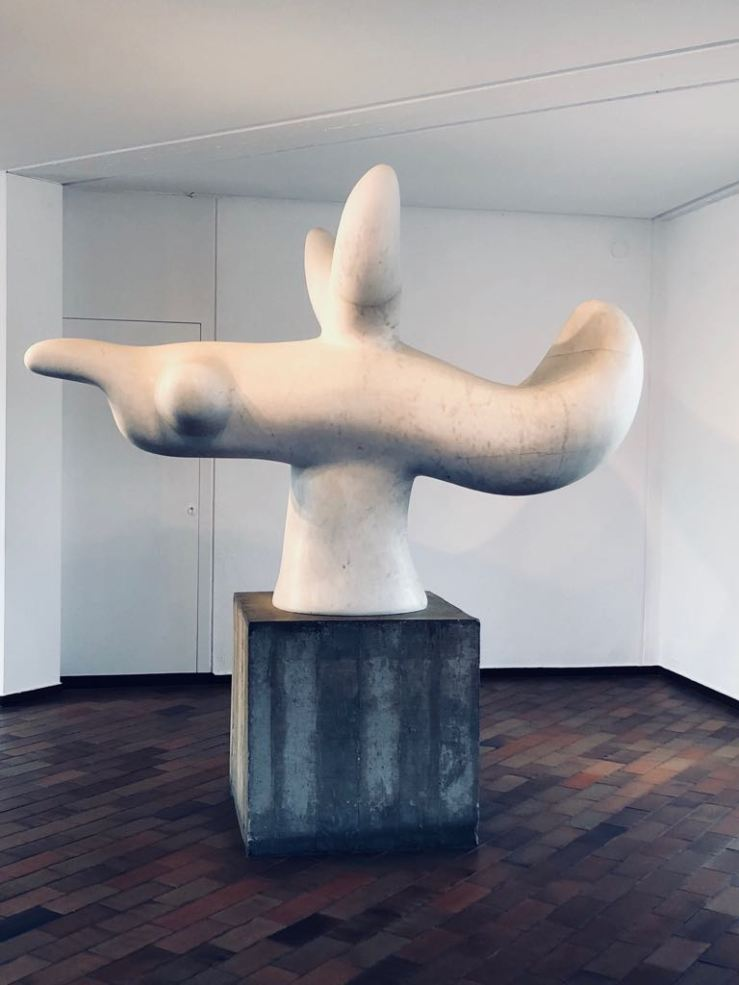 Joan Miro statue