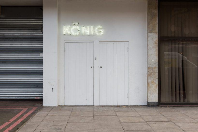 Johann König in London