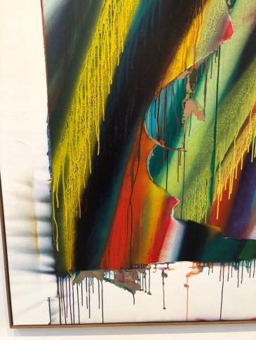Dana Sheves - Katharina Grosse exhibition (5)
