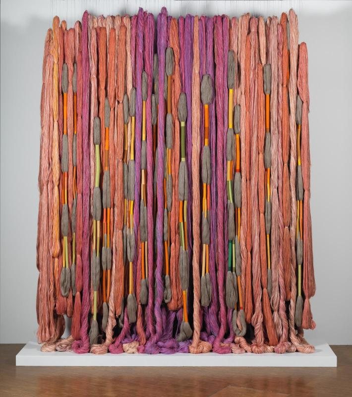 sheila Hicks at the Center Pompidou