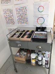 David Batchelor studio