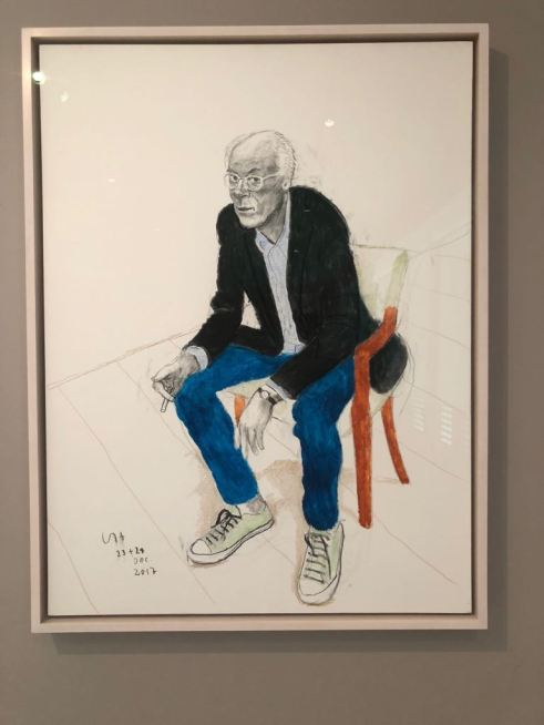 Dana Sheves -David Hockney LACMA