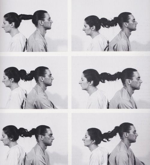 Marina Abramovitc - relation in space