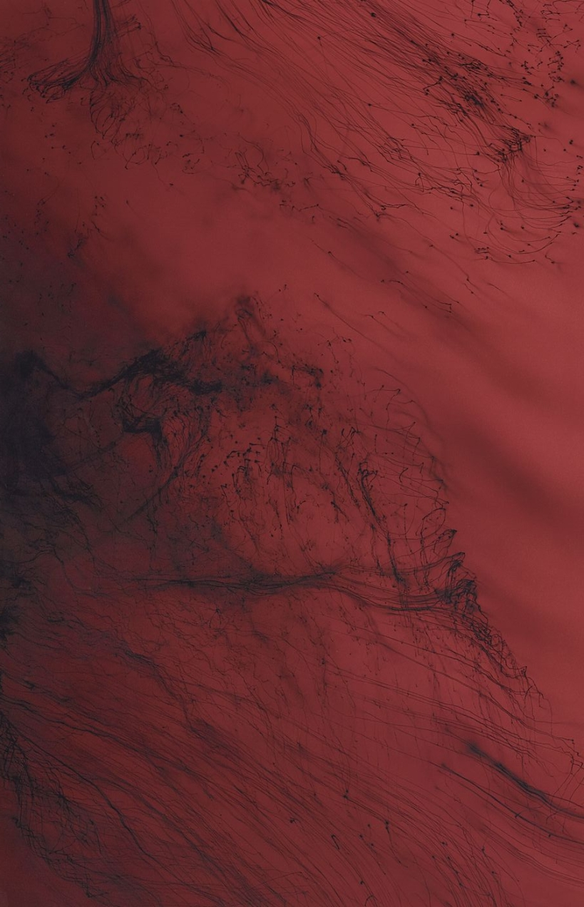 Wolfgang Tillmans - red abstract
