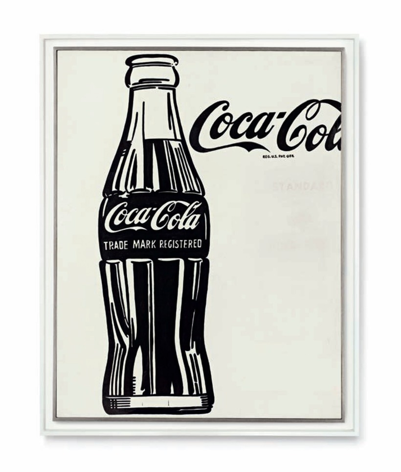 Cocla Cola design by Andy Warhol