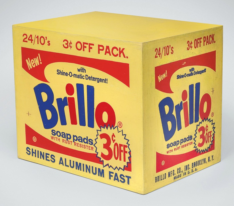 Dana Sheves - Andy Warhol Brillo Box